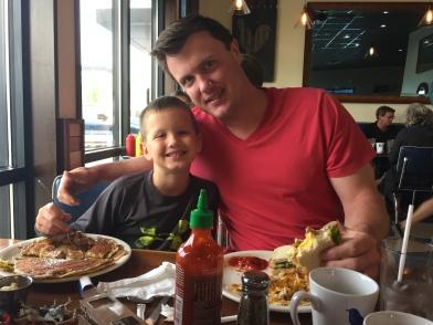 Breakfast at Bluebird Diner